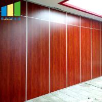 China Dubai Foldable Wall Partition Soundproof Sliding Partitions For Conference Center on sale