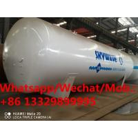 China made best price 80m3 40tons bullk propane gas storage tankers for sale, hot sale! stationary lpg gas tanker Manufactures
