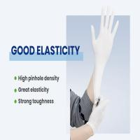 China Powder Free Sterile Latex Disposable Glove / Non Powdered Nitrile Gloves on sale