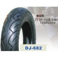 3.50 - 10'' Tubeless Electric Scooter Tyres For Off Road Electric Scooter Manufactures