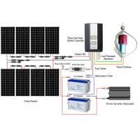 Quality Large Capacity Off Grid Solar And Wind Kits Smart Controller  Durable Construction for sale