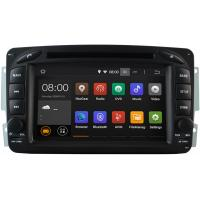 Professional Mercedes Benz Radio GPS 2000 - 2003 W203 Mercedes C Class DVD Player Stereo Manufactures