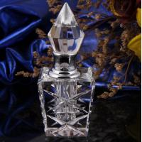 China Customized Vintage Crystal Perfume Bottles Silk-Screen Printing Surface on sale