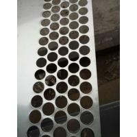 Stainless steel Perforated Metal Mesh Sheet 0 . 8mm - 2mm For Protection Decoration Manufactures