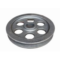Machine wheel part  ductile iron casting parts according to drawing Manufactures