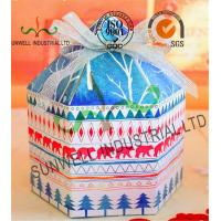Custom Product Cardboard Food Packaging Boxes With Ribbon Bow Decoration Special Shape Manufactures