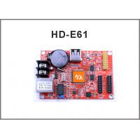 China HD-E61 network control card RJ45 +USB port Single and Double Color LED Display Module Control Card on sale