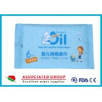 China Pure Cotton Non Alcoholic Baby Wet Wipes for sale