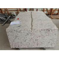 Eased Edge Quartz Bathroom Vanity Tops , Engineered Stone Worktops Manufactures