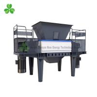 Double Shaft PVC / PP Plastic Scrap Grinder Machine 55Crsi Blade Material Manufactures
