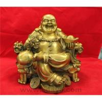 Laughing buddha on throne chair Manufactures