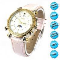 China Exquisite HD MP3 Watch Camera For Girls 4GB on sale
