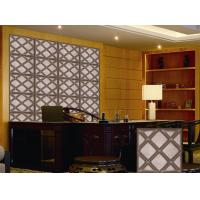 China Leather Home Decor Wallpapers Home Decoration Accessories , Customized 3D Wall Panel on sale