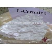 Fat / Weight Stripping Steroids L Carnitine Powder For Body Slimming CAS 541-15-1 Manufactures