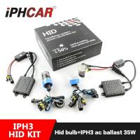 China IPHCAR Factory  Price OEM HID kit for  h1 h3 h4 h7 9005 9006 35W Xenon lens with Hid Bulb on sale