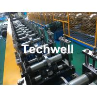 Galvanized Steel Profile Roller Shutter Door Guide Rail Cold Roll Forming Machine Manufactures