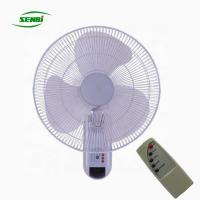 China 3 Speed Control Plastic AC Wall Fan Long Working Life OEM Acceptable on sale