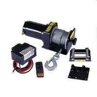 China 2000lb portable electric boat winch 12V on sale
