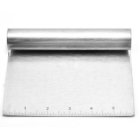 China Bakeware Tools  your product Stainless steel 5 Pizza  Dough Scraper on sale