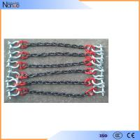 Wear Resistant Polyester Sling Lifting Loading Chain Sling With Hook Manufactures