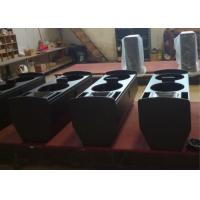 Double 15 Inch Powerful PA Speaker System For Multi Functional Hall Manufactures