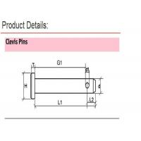 Quality DIN 1444 M5-20 Stainless Steel Bolt , Hardened Steel Clevis Pins DIN GB ISO for sale