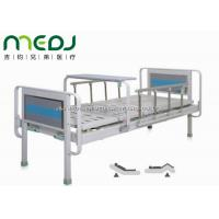 China Semi Fowler Manual Hospital Bed , MJSD06-03 Two Cranks Hospital Patient Bed on sale