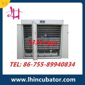 6336 eggs incubator automatic incubator CE marked  LH-18 Manufactures