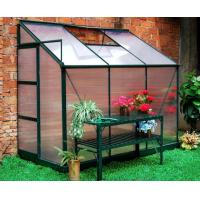 6.3X8FT aluminum Greenhouse with spring clips Manufactures