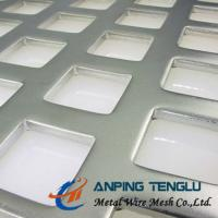 """""""Z """" Type Staggered, Square Hole Perforated Metal, SS304/316, Aluminum, Mild Steel Manufactures"""