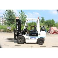 Sit On Counterbalance Reach Truck , LPG Powered Shipping Container Lift Truck Manufactures