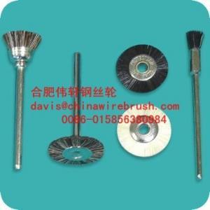 China soft mounted wheel bristle mini brushes on sale