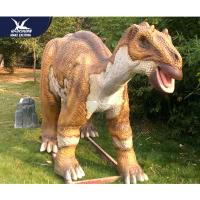 Big Size Animatronic Dinosaur Statues For Garden Decoration Remote Control Manufactures