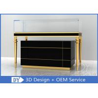 OEM Jewelry Showcase Display Pull - Out Drawers With Lights And Locks Manufactures