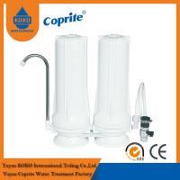 10 Inch White Two Stage PP/CTO Cartridge Household Water Filter System Alkaline Water Filter Manufactures