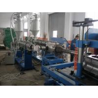 16 - 110mm PVC Corrugated Pipe Production Line Stable Running Plastic Extrusion Machinery Manufactures