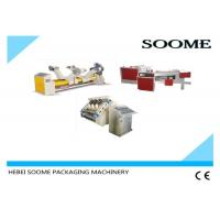 Single Facer Carton Production Line , Auto - Cycle Corrugated Box Gluing Machine Manufactures