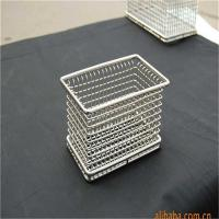 China Laboratory stainless steel metal wire mesh baskets on sale