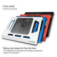 plastic slim notebook coolind pad with singe USB fan Manufactures