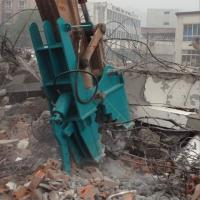 Secondary demolition tools mechanical pulverizer concrete crusher Manufactures