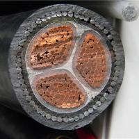 Compacted Copper Conductor Low Voltage Power Cable 3x185mm2 XLPE Insulation Manufactures