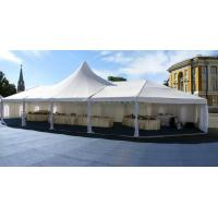 Retractable Fire Retardant Tarpaulin , Self Cleaning Sun Tarp For Muslim Tent Manufactures