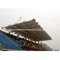 Aluminum Window Prefabricated Steel Structures Round Steel Brace For Stadium Manufactures