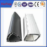 White powder coating aluminum shutter door profile Manufactures