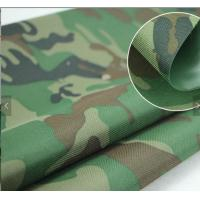 PU Coated Camouflage Lightweight Tent Fabric For Military Defense And Aviation Manufactures