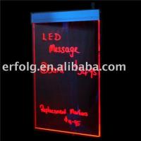 China The latest 5050 SMD led writing board on sale