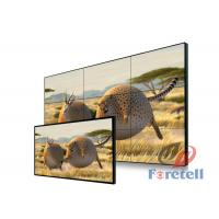 Thin Bezel Monitor Multi Screen Video Wall 3x3 , Lg Large Format Display RS232 Remote Control Manufactures