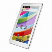 """7"""" 16:9 Capacity Touch/800 x480 Pixels/Allwinner 1.5GHz/Android 4.0 OS Tablet PC with 1GB DDR/8GB Manufactures"""