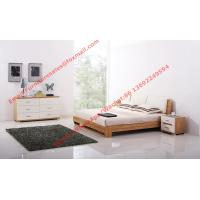 Fabric upholstered headboard and MDF Bed bottom in Modern bedroom furniture Manufactures