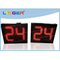 Multi Functional Basketball Game Clock , LED Shot Clock For Basketball Manufactures